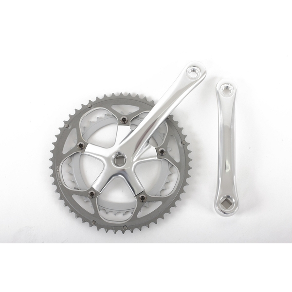 ETC Chainset Alloy 39/53 Teeth 170mm Silver