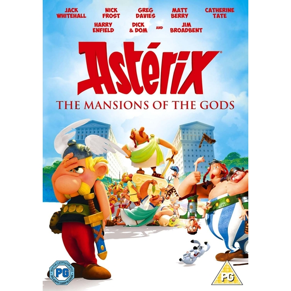 Asterix & Obelix: Mansion Of The Gods DVD
