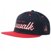 Airwalk Snap Back Cap Navy & Red