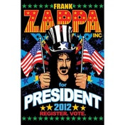 Frank Zappa For President Maxi Poster