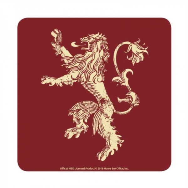 Game Of Thrones - Lannister Single Coaster