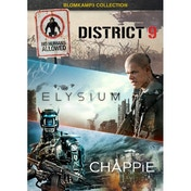 District 9 / Elysium / Chappie DVD