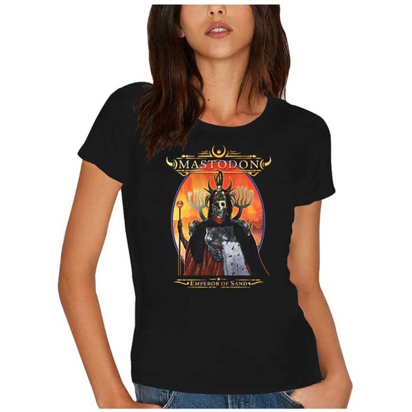 Mastodon - Emperor of Sand Women's X-Large T-Shirt - Black