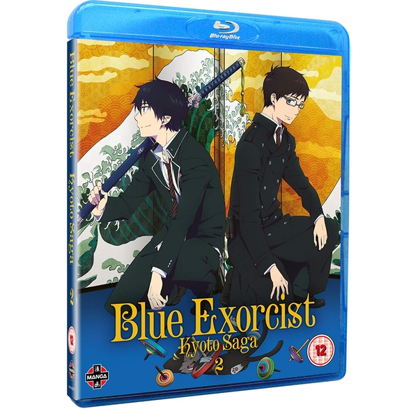 Blue Exorcist (Season 2/ Episodes 7-12) Kyoto Saga Volume 2 Blu-ray