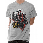 The Avengers Infinity War - Good Mix Men's Large T-Shirt - Grey