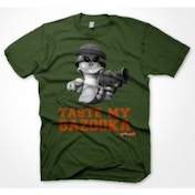 Worms Taste My Bazooka T-Shirt X-Large