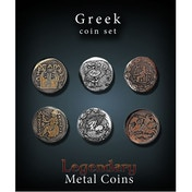 Legendary Metal Coins - Greek Coin Set