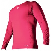 PT Base-Layer Long Sleeve Crew-Neck Shirt Medium Fluo Pink