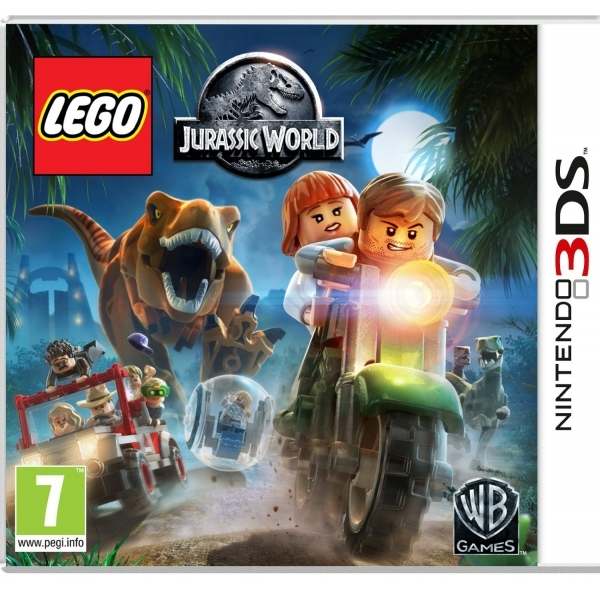 Lego Jurassic World 3DS Game