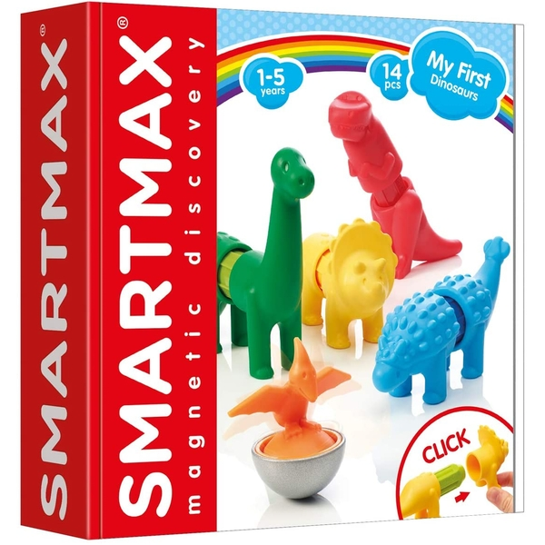 SmartMax My First Dinosaurs Magnetic Discovery Construction Set