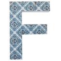 Letter F Wall Plaque