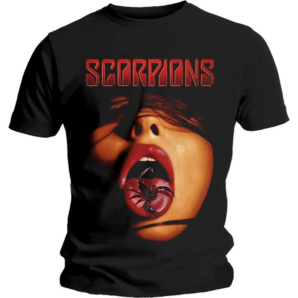 Scorpions - Scorpion Tongue Unisex Medium T-Shirt - Black
