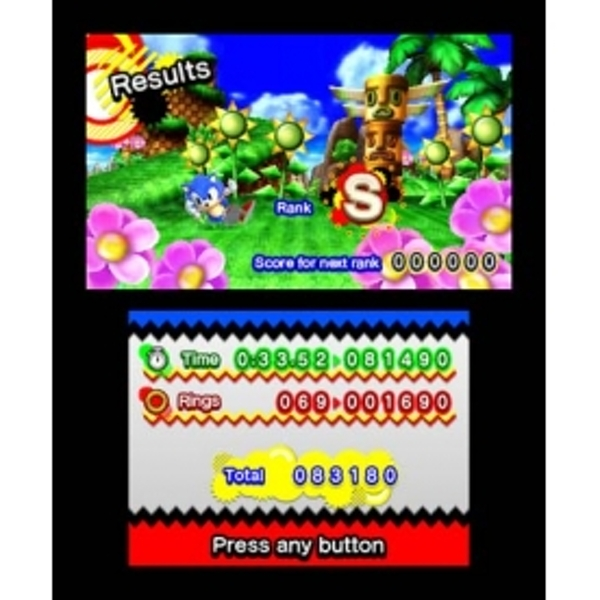 Sonic Generations Game 3DS - Image 3