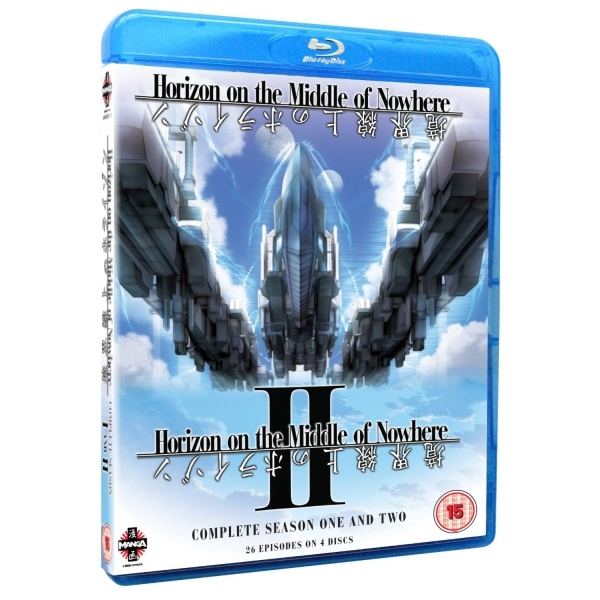 Horizon On The Middle Of Nowhere Season 1 And 2 Blu-ray
