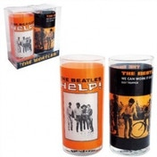 Glasses set of 2 - The Beatles (HELP! Orange)