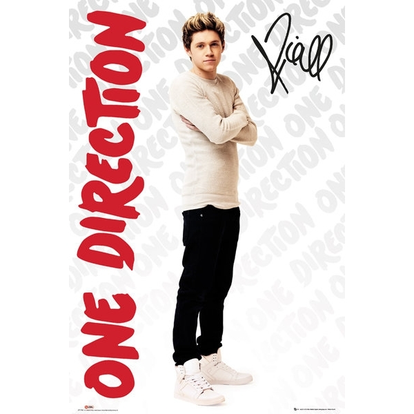 One Direction Niall Logos Maxi Poster