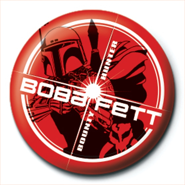 Star Wars - Boba Fett Badge - Image 1