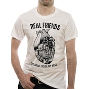 Real Friends Heart Small T-Shirt