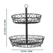 2 Tier Fruit Bowl | M&W - Image 7