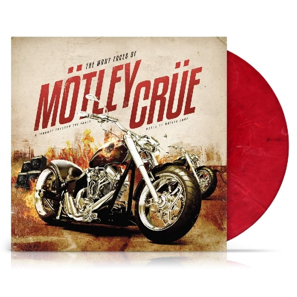 Motley Crue - The Many Faces Of Motley Crue Limited Red Marble  Vinyl