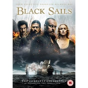 Black Sails: The Complete Collection (Seasons 1-4) DVD