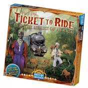 Ticket To Ride Map Collection Volume 3 Heart of Africa