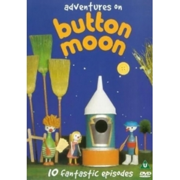 Button Moon Adventures On Button Moon DVD