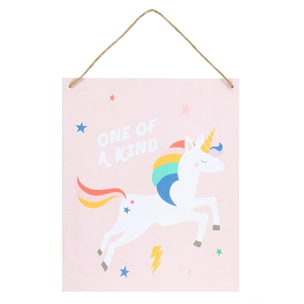 One of a Kind Unicorn Sign
