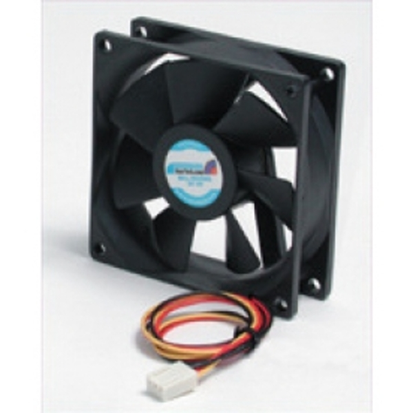StarTech 80x25mm Ball Bearing Quiet Computer Case Fan with TX3 Connector