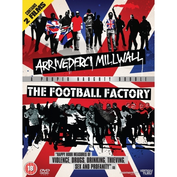 The Football Factory / Arrivederci Millwall DVD