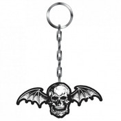 Thick Metal Keyring - Avenged Sevenfold