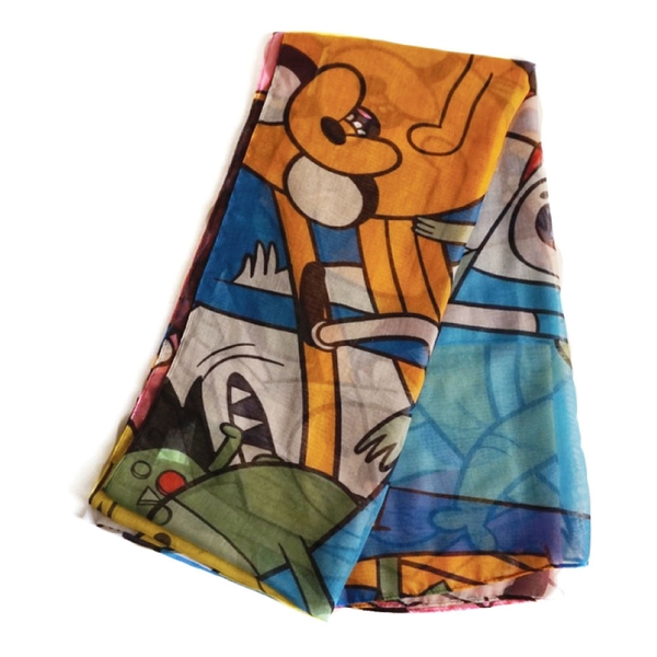 Adventure Time - Characters All-Over Print Unisex Scarf - Multi-Colour