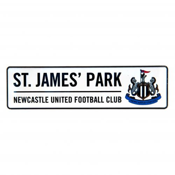 Newcastle United FC Stadium Window Sign