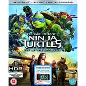 Teenage Mutant Ninja Turtles: Out Of The Shadows 4K UHD Blu-ray