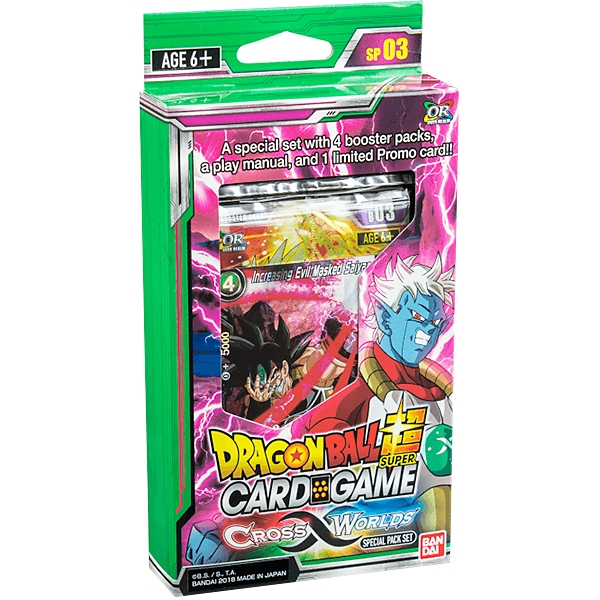 Dragonball Super Card Game: Cross Worlds Special Pack