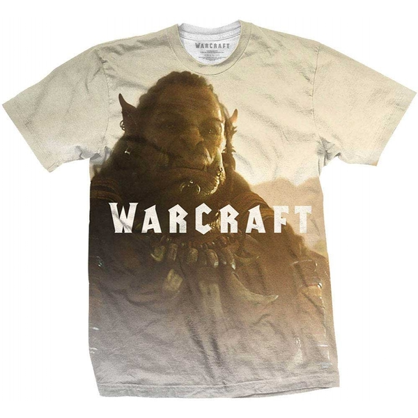 World of Warcraft - Durotan Fade Men's Small T-Shirt - White