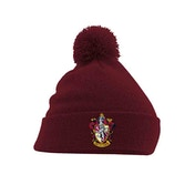 Harry Potter - Gryffindor Crest Pom Beanie Red