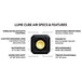 Lume Cube Air Mini LED Light for Smartphone, Camera, Drone and GoPro, Black - Image 2