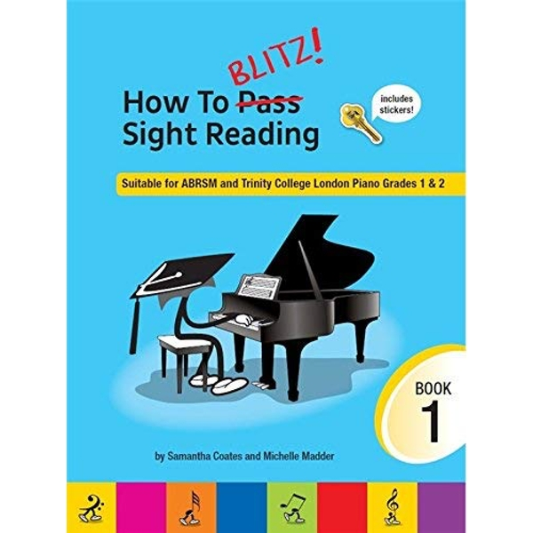 How to Blitz Sight Reading: Book 1 by Music Sales Ltd (Paperback, 2016)