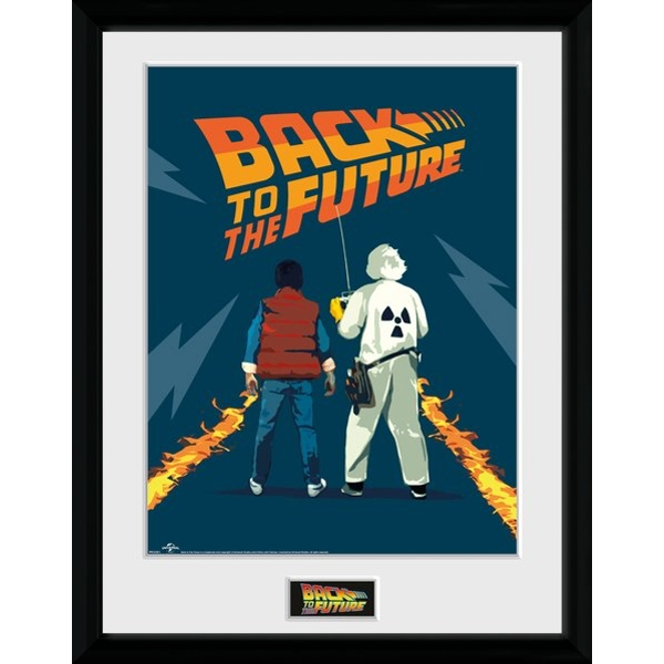 Print: Doc And Marty