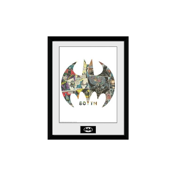 Batman - Comic Symbol Collector Print