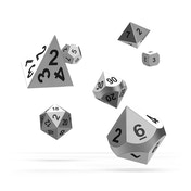 Oakie Doakie Dice RPG Set (Metal Mercury)