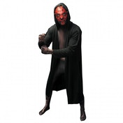Morphsuit Star Wars Darth Maul Medium Black