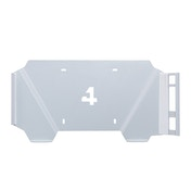 4mount Wall Mount Bracket White for Playstation 4 Pro Console BUNDLE