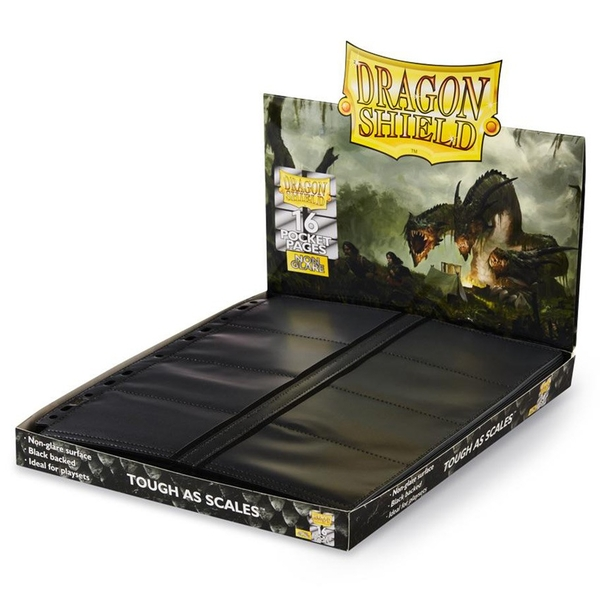 Dragon Shield NonGlare - Center Loading 16-Pocket Pages (50)