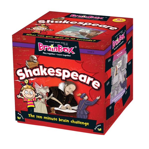 BrainBox Shakespeare Card Game