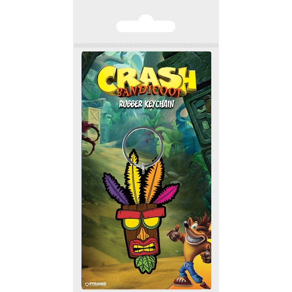 Crash Bandicoot - Aku Aku Keychain