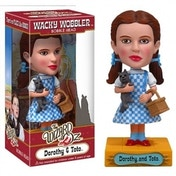 Ex-Display Wizard of Oz Dorothy Gale and Toto Bobble Head Used - Like New