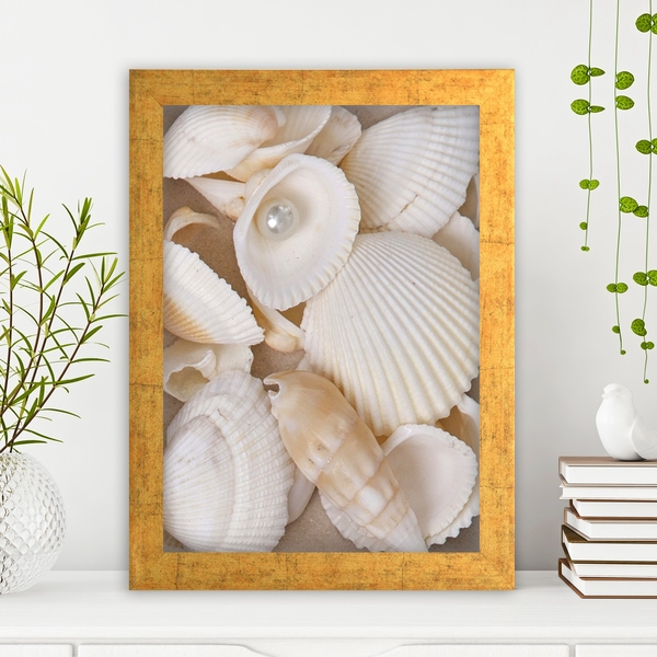 AC1990015345 Multicolor Decorative Framed MDF Painting
