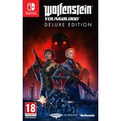Wolfenstein Young Blood Deluxe Edition Nintendo Switch Game (Pre-Order Bonus) [Code In a Box]
